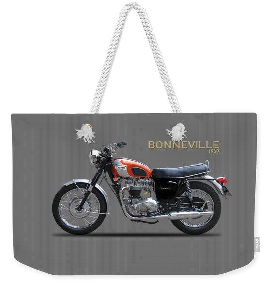Triumph Bonneville 1969 Weekender Tote Bag