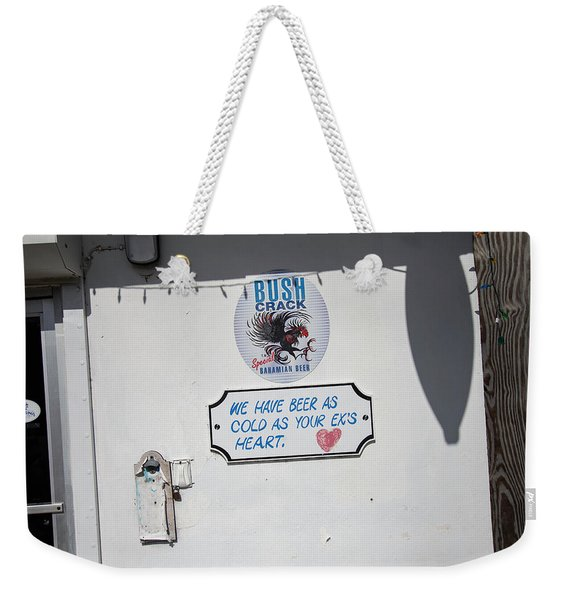 As Cold As Your Ex's Heart Weekender Tote Bag