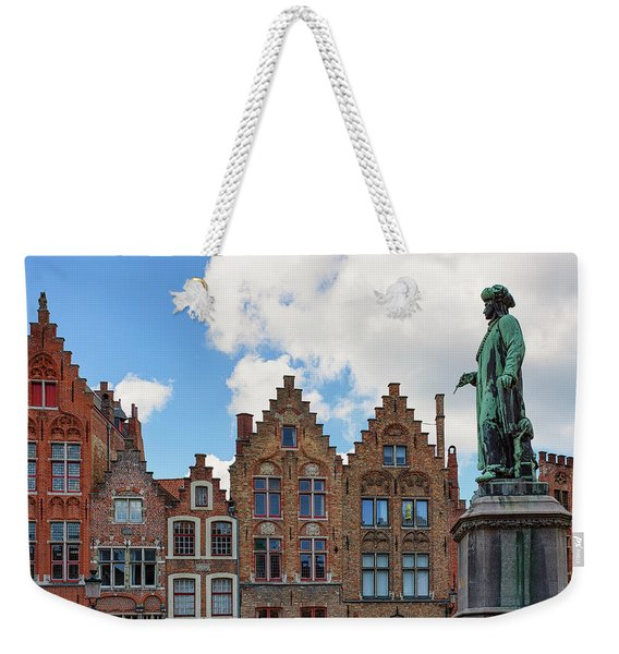 As Eyck Can Weekender Tote Bag