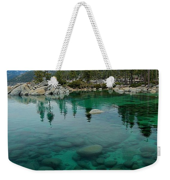 As Far As The Eye Can See Weekender Tote Bag