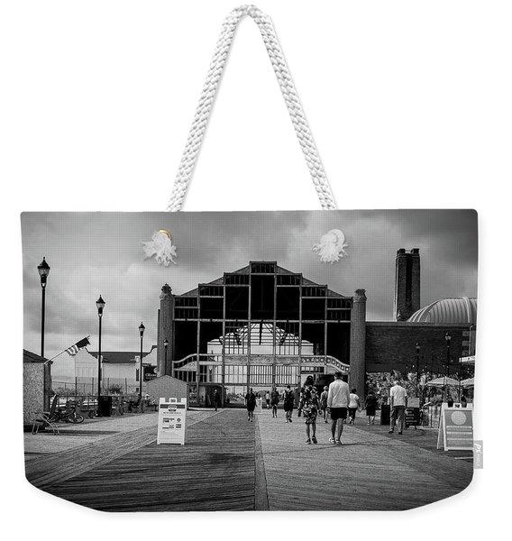 Asbury Park Boardwalk Weekender Tote Bag