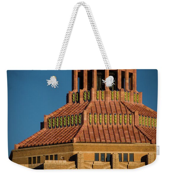 Asheville City Hall 1 Weekender Tote Bag
