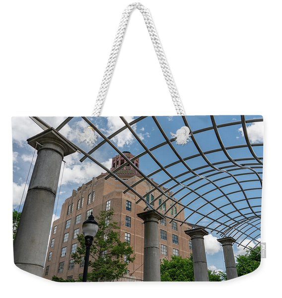 Asheville City Hall 2 Weekender Tote Bag