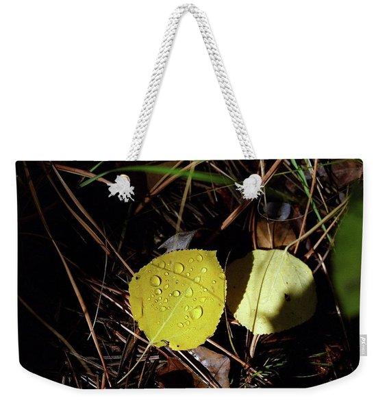 Aspen Dew Weekender Tote Bag