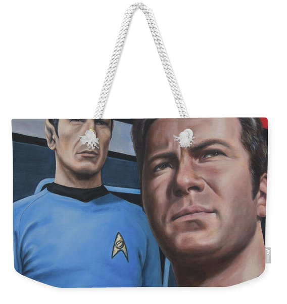 Assessing A Formidable Opponent Weekender Tote Bag