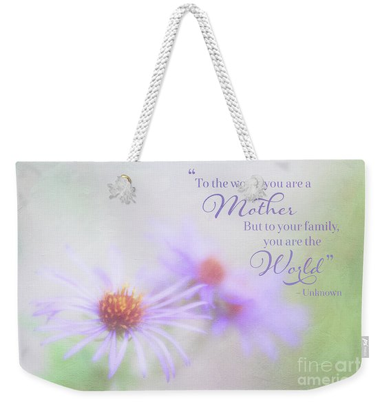 Asters For Mother's Day Weekender Tote Bag