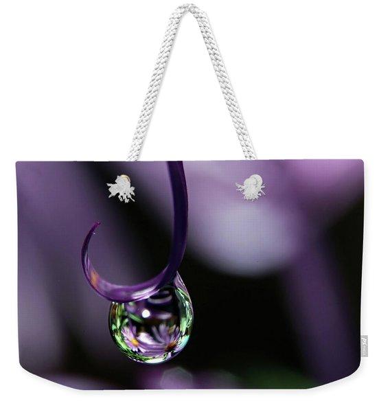 Asters Weekender Tote Bag