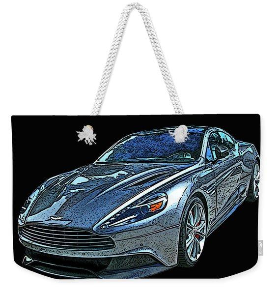 Aston Martin Db9 Weekender Tote Bag