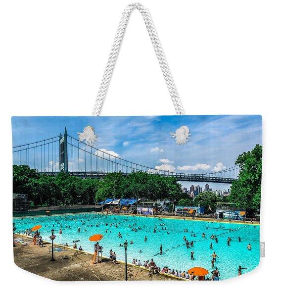 Astoria Pool Weekender Tote Bag