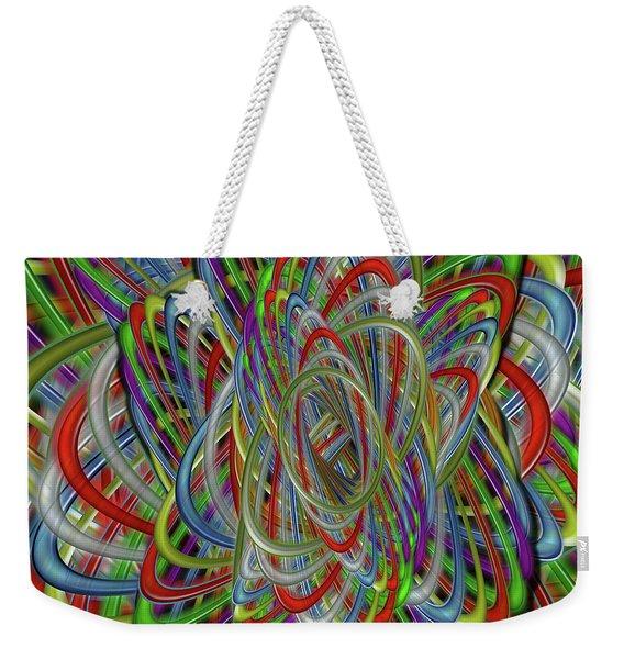 Astray Colors Weekender Tote Bag