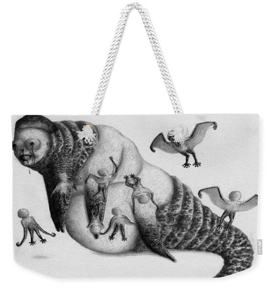 Astrid The Nightmare Nurturer - Artwork Weekender Tote Bag