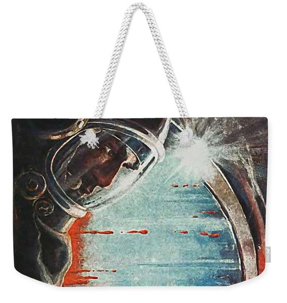 Astronaut In Space Weekender Tote Bag