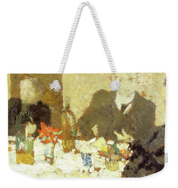 At Table - Digital Remastered Edition Weekender Tote Bag