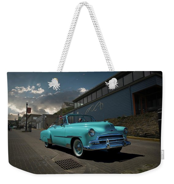 At The Visual Arts Center Weekender Tote Bag