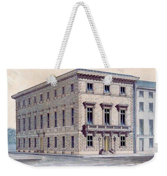 Athenaeum Perspective Weekender Tote Bag