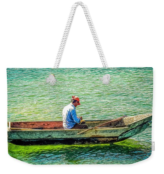 Atitlan Fisherman Weekender Tote Bag