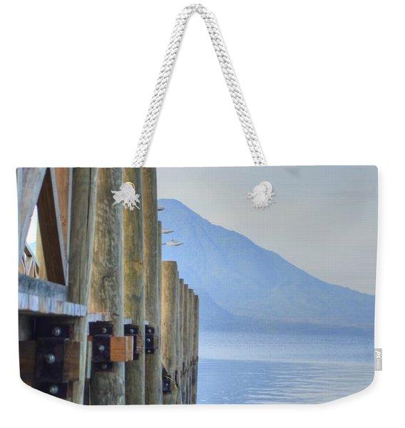 Atitlan Pier Weekender Tote Bag