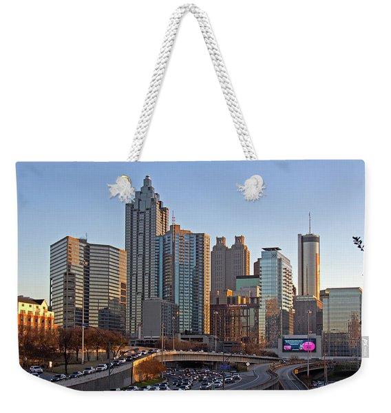 Atlanta - Downtown View Weekender Tote Bag