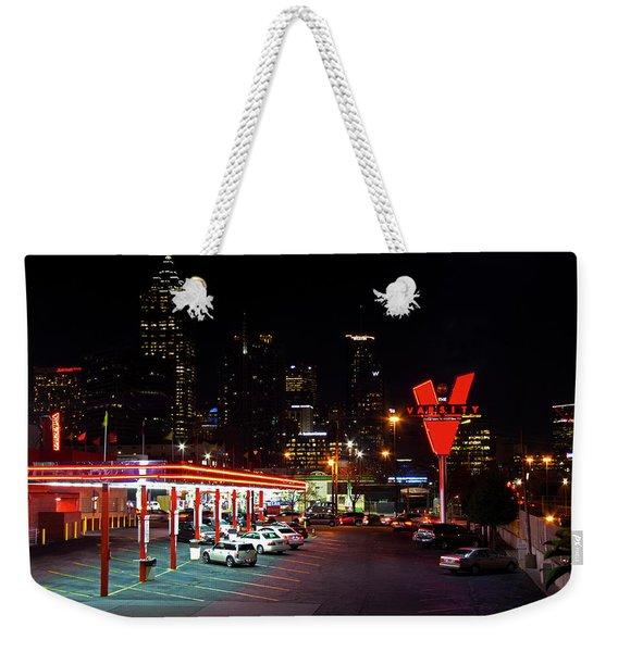Atlanta, Georgia - The Varsity Drive-in Weekender Tote Bag