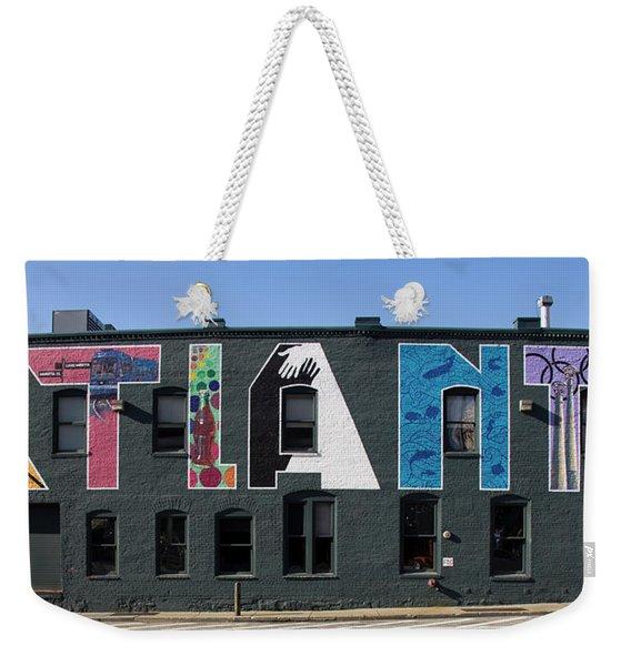 Atlanta, Georgia - Urban Art Weekender Tote Bag