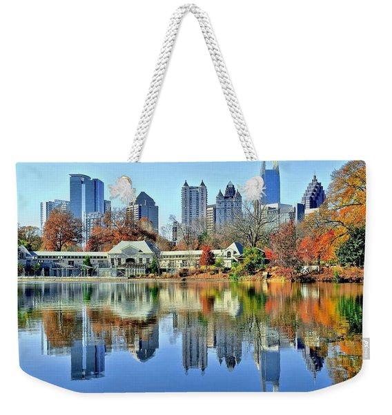 Atlanta Reflected Weekender Tote Bag