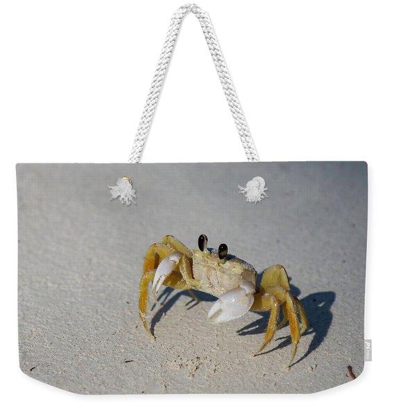 Atlantic Ghost Crab Weekender Tote Bag
