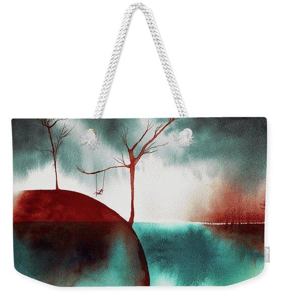 Atmospheric Day Weekender Tote Bag