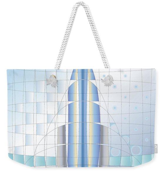 Atomic Rocket Weekender Tote Bag