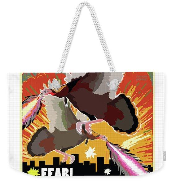 Attack Weekender Tote Bag