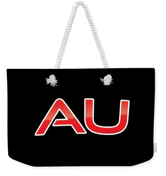 Au Weekender Tote Bag