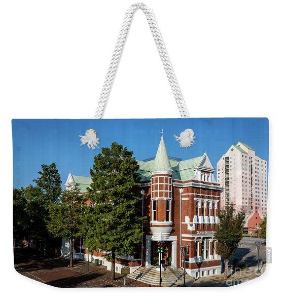 Augusta Cotton Exchange - Augusta Ga Weekender Tote Bag