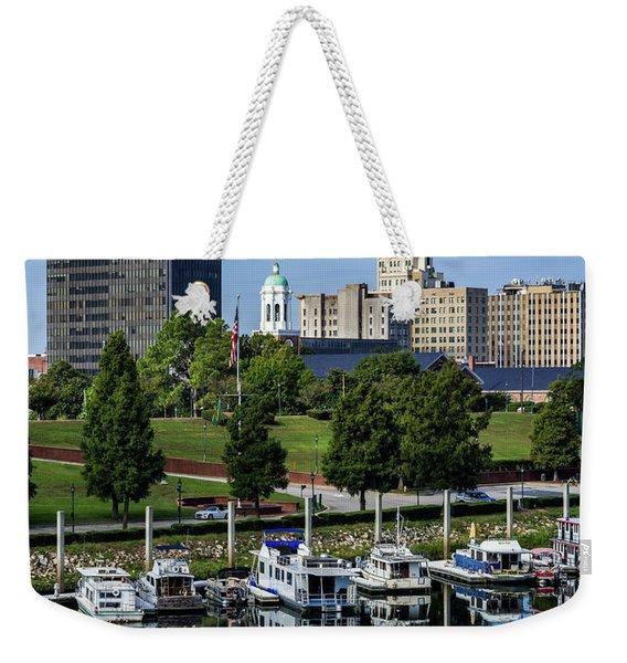 Augusta Ga Savannah River 3 Weekender Tote Bag