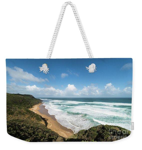 Australia Coastline Weekender Tote Bag
