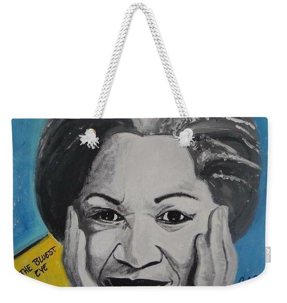 Author Toni Weekender Tote Bag