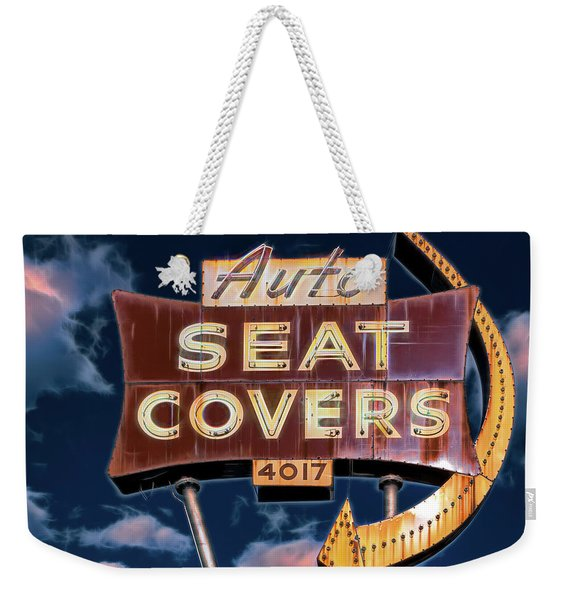 Auto Seat Covers Weekender Tote Bag