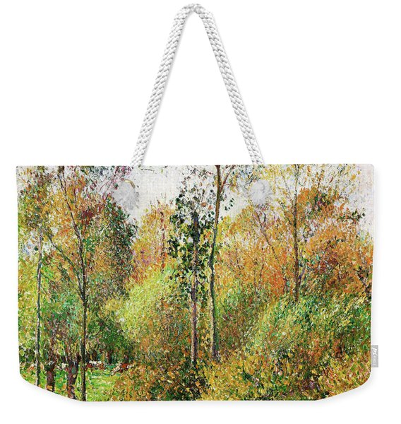 Automne, Peupliers, Eragny - Digital Remastered Edition Weekender Tote Bag