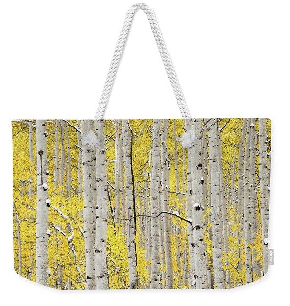 Autumn Aspens 6 Weekender Tote Bag