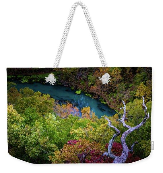 Autumn At Ha Ha Tonka State Park Weekender Tote Bag
