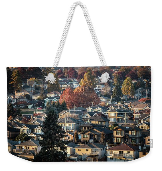 Autumn At Home Weekender Tote Bag
