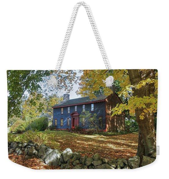 Autumn At Short House Weekender Tote Bag