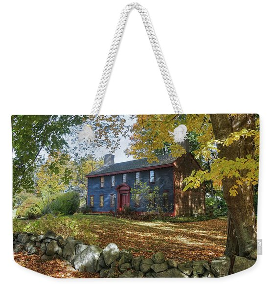 Autumn At Short House Weekender Tote Bag