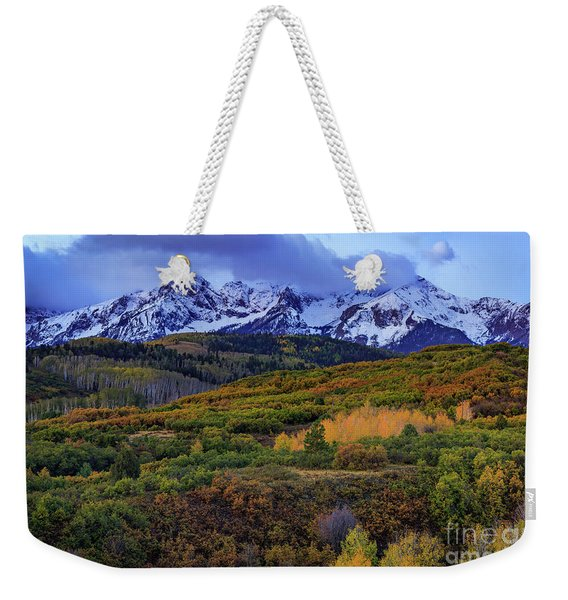Autumn At The Dallas Divide Weekender Tote Bag