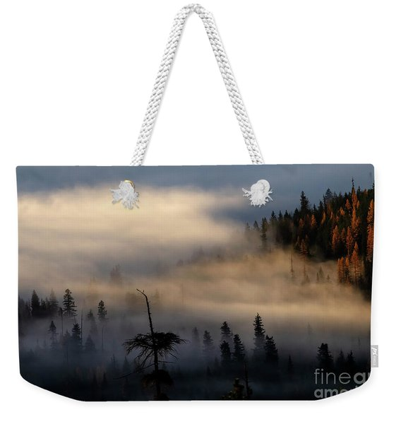 Autumn Dawning Weekender Tote Bag