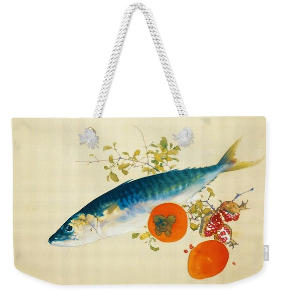 Autumn Fattens Fish And Ripens Wild Fruits - Digital Remastered Edition Weekender Tote Bag