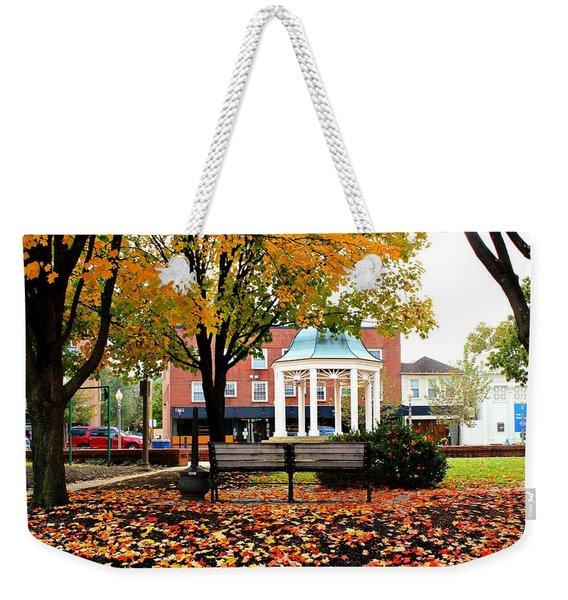 Autumn Gatherings  Weekender Tote Bag