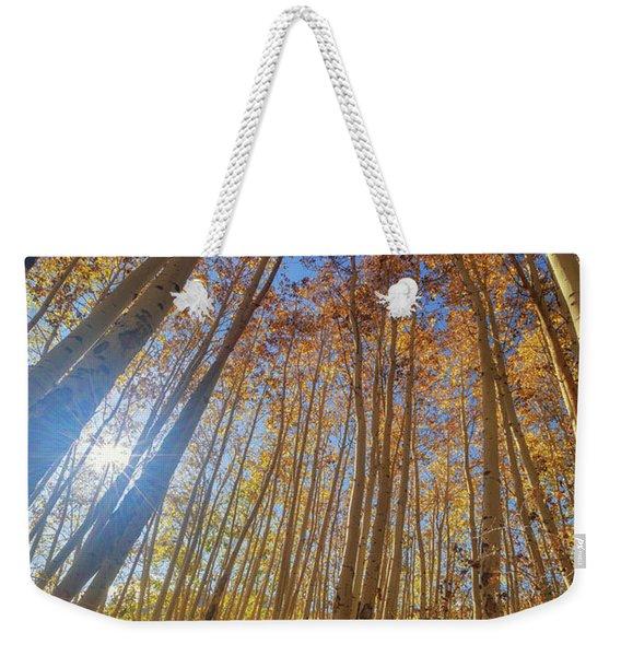 Autumn Giants Weekender Tote Bag
