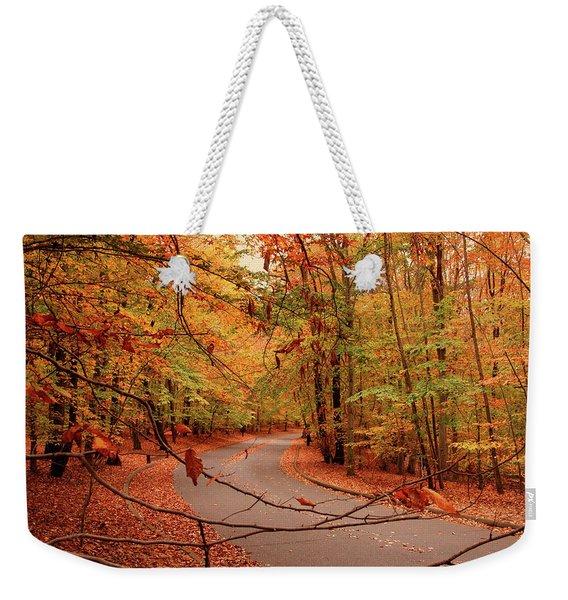 Autumn In Holmdel Park Weekender Tote Bag
