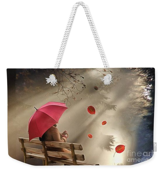 Autumn In Silence Weekender Tote Bag