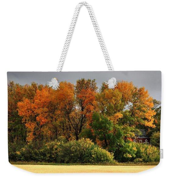 Autumn Is Nigh  Weekender Tote Bag