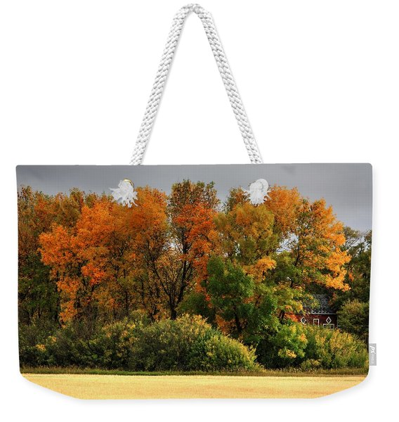 Autumn Is Nigh  Weekender Tote Bag